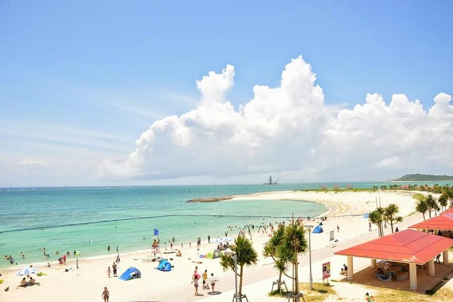 豊見城市のちゅらさんビーチ